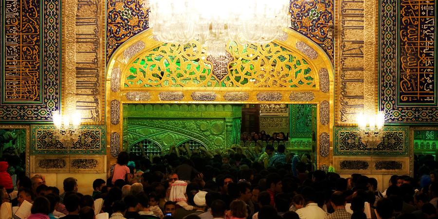 Гробница Имама Резы, Мешхед, Иран