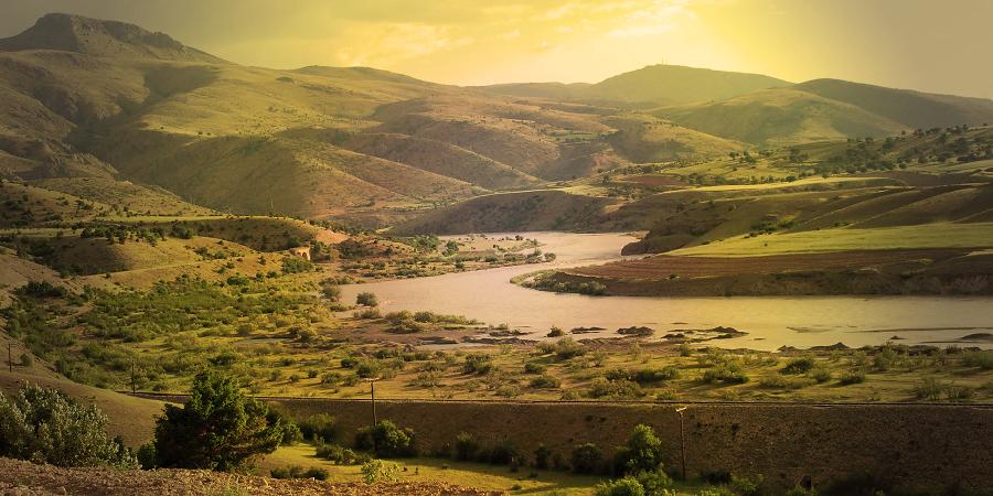 Река Фурат (Ефрат)
