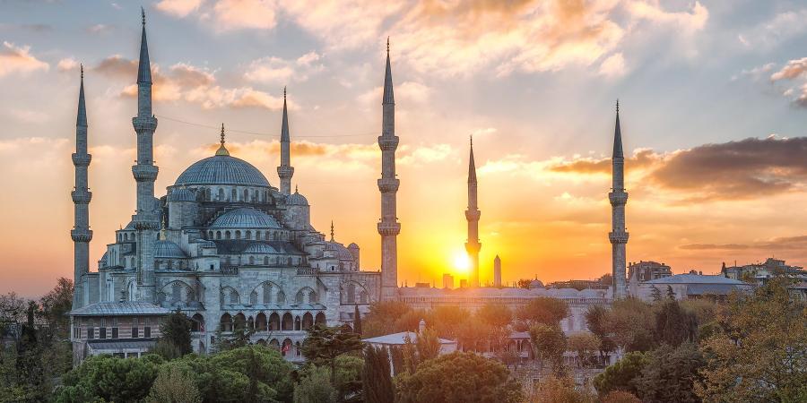 Мечеть Султанахмет (Голубая мечеть), Стамбул, Турция