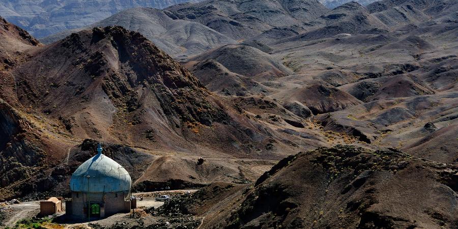 Мечеть в горах, Канарак, Иран
