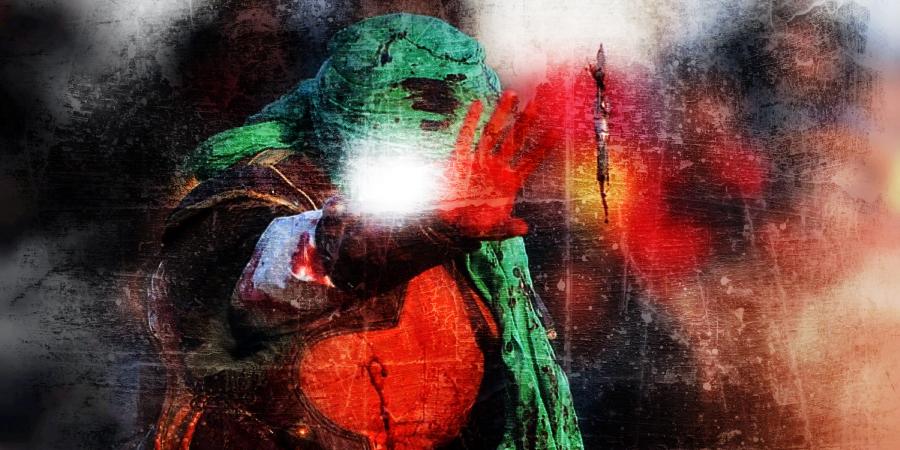 Актёр, играющий раненого Имама Хусейна