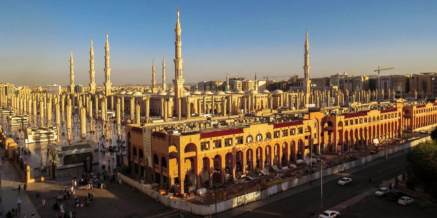 Мечеть Пророка днём, Медина, Саудовская Аравия