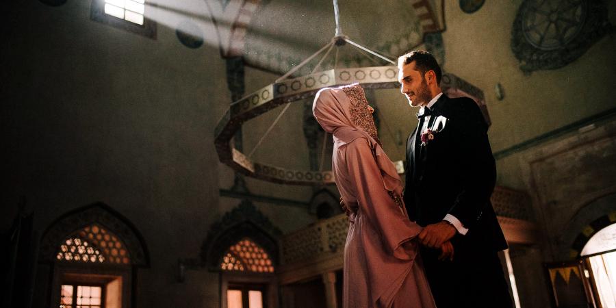 Турецкая свадьба в стенах мечети