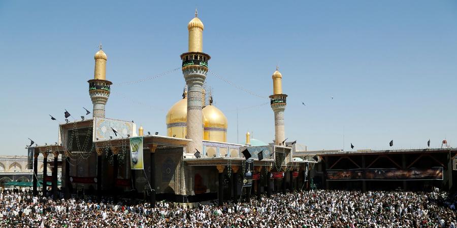 Комплекс Казимейн, где покоятся Имам Казым и его внук Имам Джавад