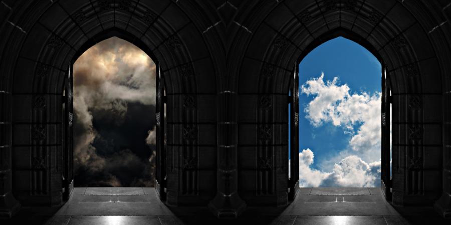 Двери в Ад и Рай