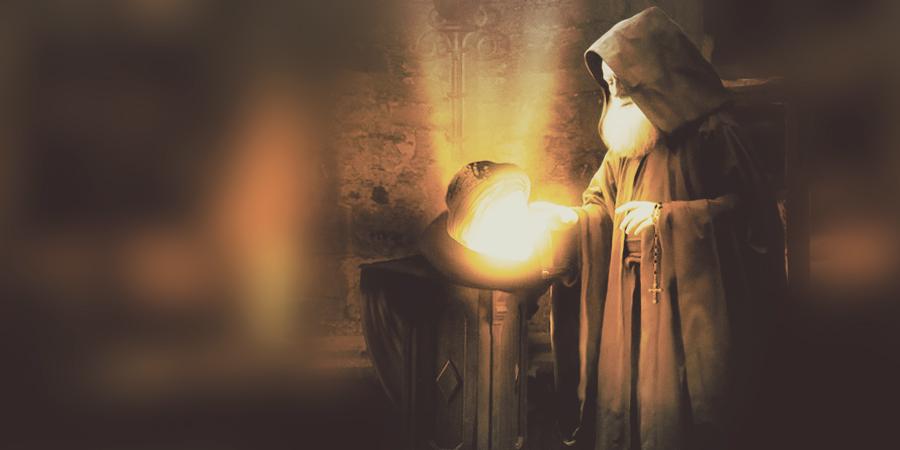 Голова Имама Хусейна и христианский монах