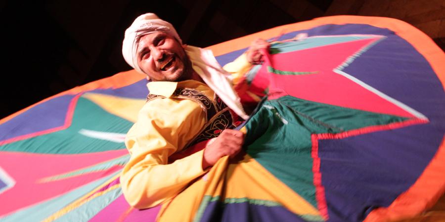 Суфийский танцор из Египта