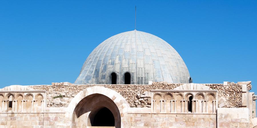 Дворец Омеяйдов, уничтоженный землетрясением за год до свержения династии, Амман, Иордания