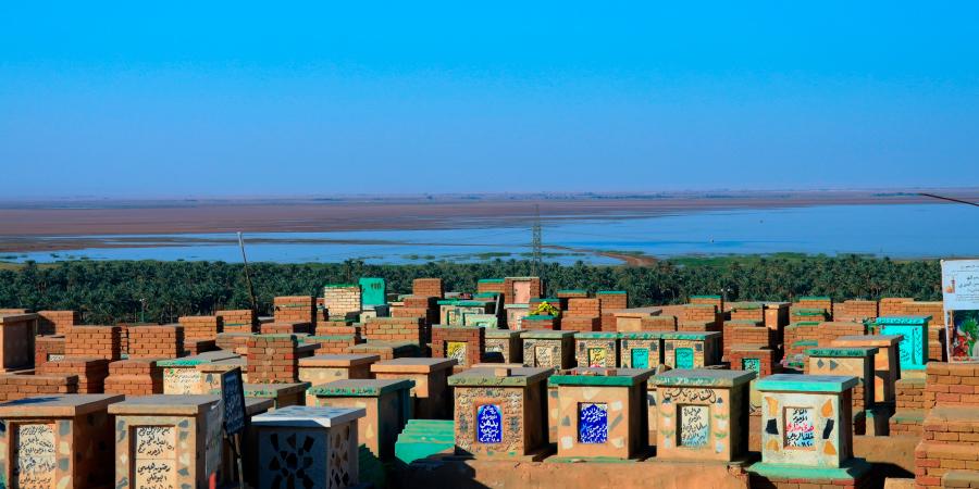 Кладбище Вади ас-салам (Долина мира), Наджаф, Ирак