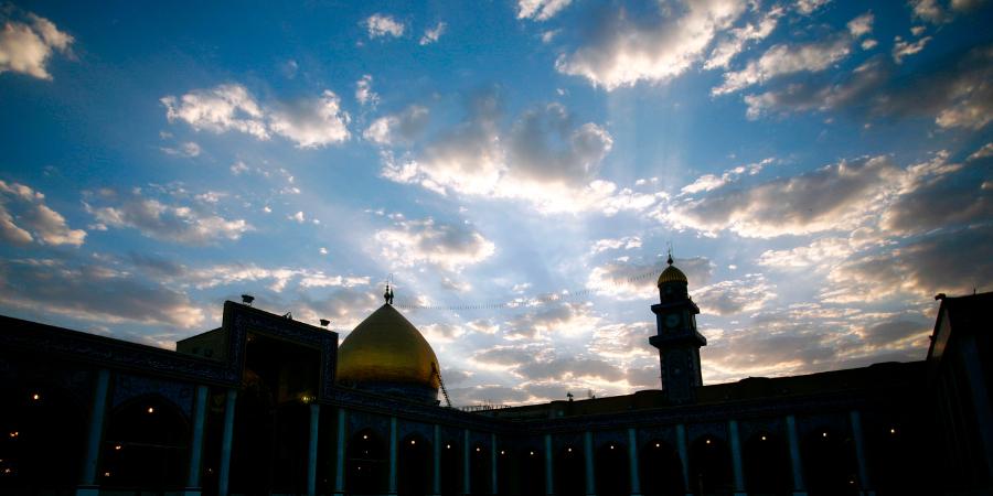 Мечеть Куфы в сумерках, Ирак