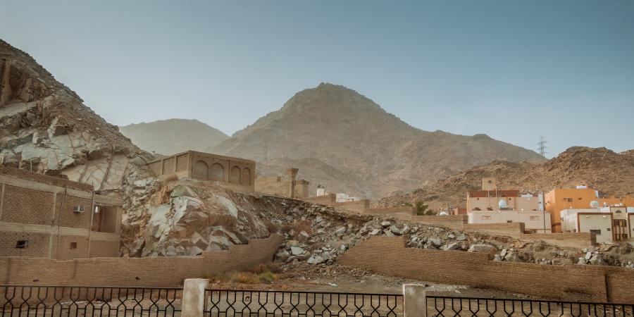 Гора Ухуд, север Медины, Саудовская Аравия