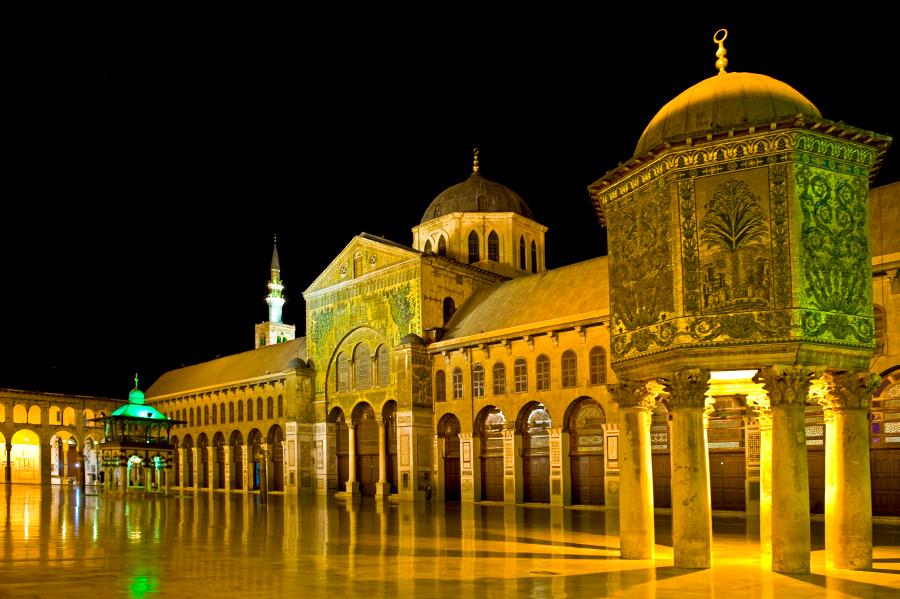 Мечеть Омейядов, Дамаск, Сирия