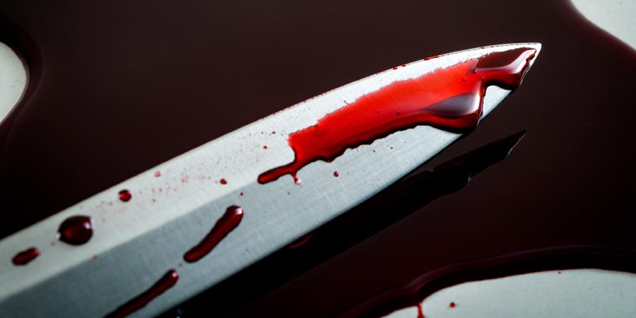 Окровавленное острие меча
