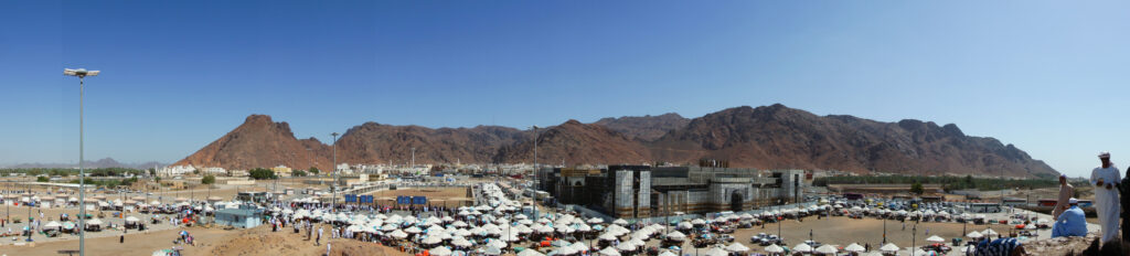 Панорама горы Ухуд, Северная Медина, Саудовская Аравия