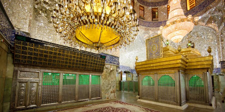 Гробница Имама Хусейна, Кербела, Ирак