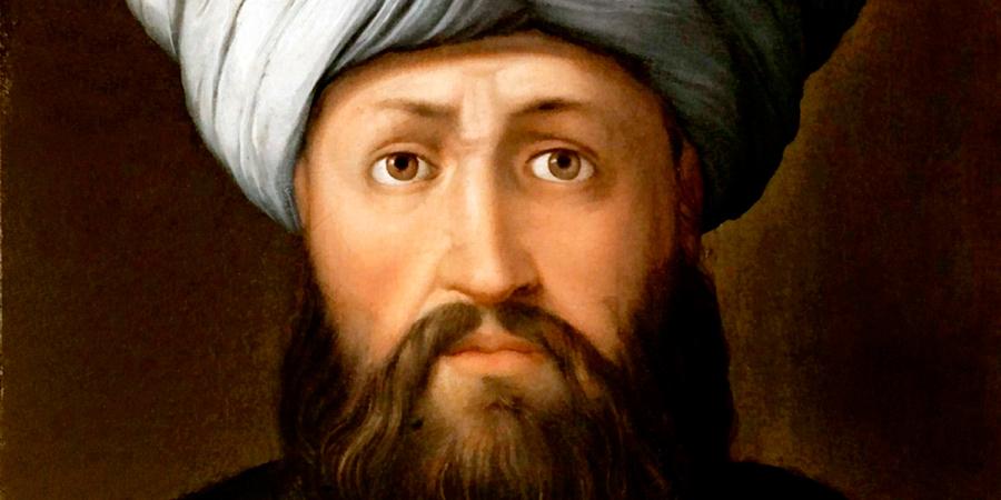 Портрет Салаха ад-Дина, написанный итальянским художником Кристофано дель Альтиссимо, 1560