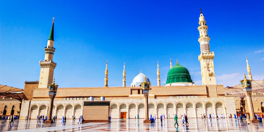 Мечеть Пророка, Медина, Саудовская Аравия