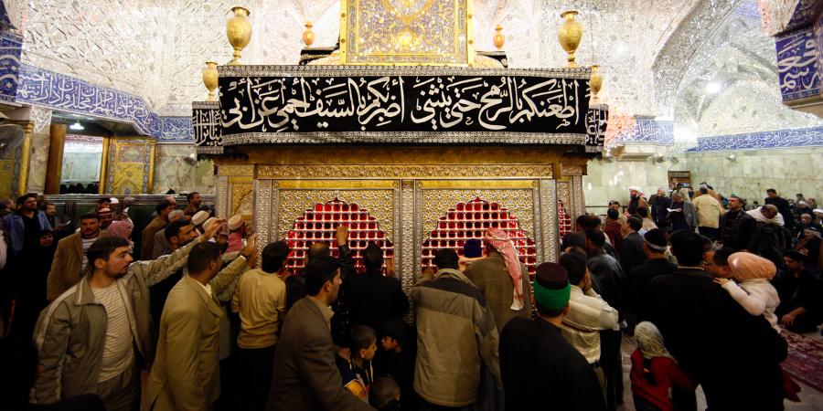 Шииты в хараме Имама Хусейна, Кербела, Ирак