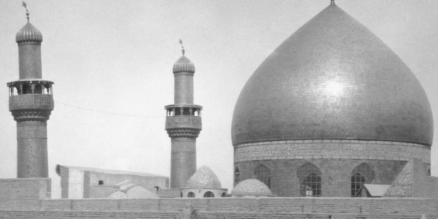 Старая фотография харама Имама Али, Наджаф, Ирак, 1932