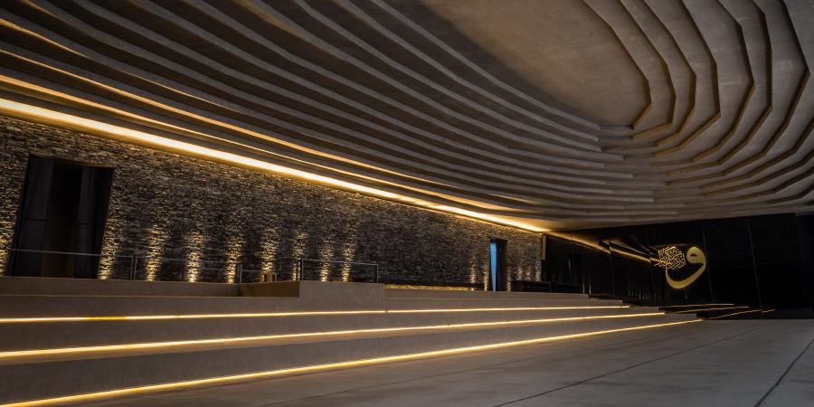 Интерьер подземной мечети Санджаклар, Стамбул, Турция