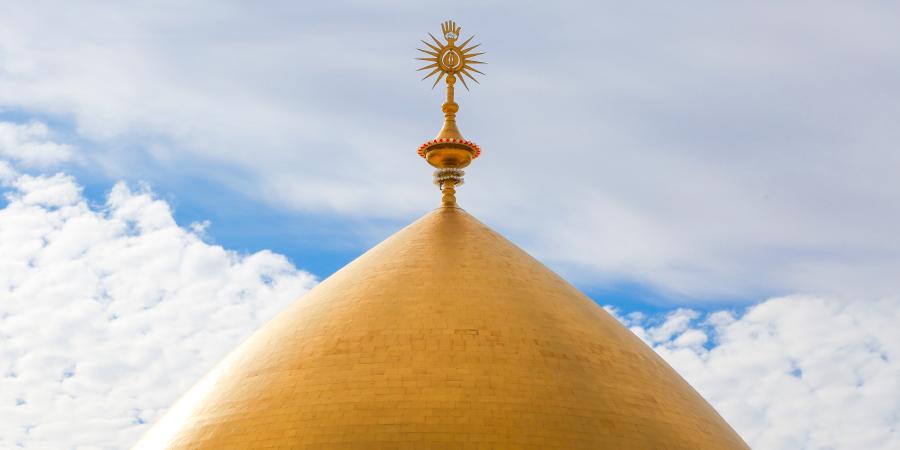 Золотой купол харама Имама Али, Наджаф, Ирак